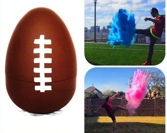 SALE Football Gender Football Reveal Ball (Custom Combinations) Gender Reveal Football