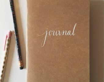 Craft Paper Journal Notebook