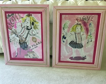 Eloise at the plaza framed pictures