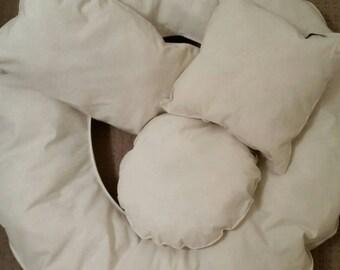 Newborn Posing Cushions Set of Four Photography Accessories Baby Photography Props Newborn Photography Shaped Cushions