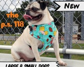 P.S. 118 90s Cartoon Dog Harness; Available for Large & Small Dogs; Handcrafted by Nerdy Pug Studios in Atlanta