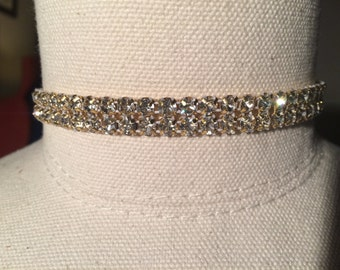 Swarovski Crystal Choker/Women's Choker/Jewelry/Necklace/Women's Gifts/Gifts for Her