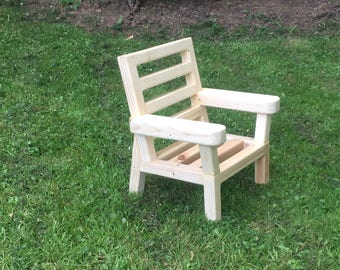Custom Wooden Childs Chair 1yr to 2yr