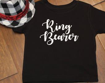 Ringer Bearer, Ring Bearer Shirt, Ring Security, Wedding Shirts, Ring Bearer Tee Shirt, Ring Bearer T-Shirt