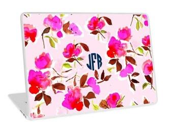 Laptop Decal: Dizzy Pink Floral