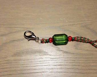Red, Green and Gold Lanyard