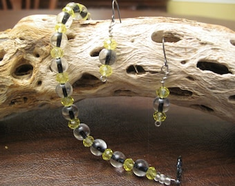 HANDMADE BEADED SET Bracelet & Earrings