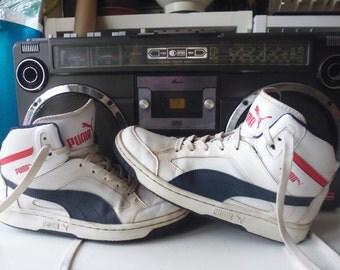 Vtg 80's PUMA basket ball shoes
