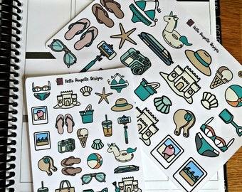 Beach essentials - Planner Stickers - Essentials collection