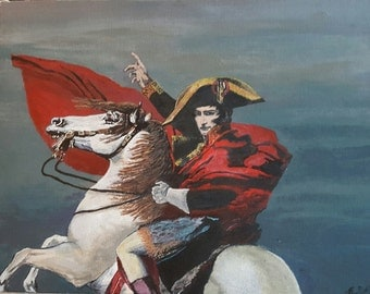 Waterloo print of original acrylic painting.