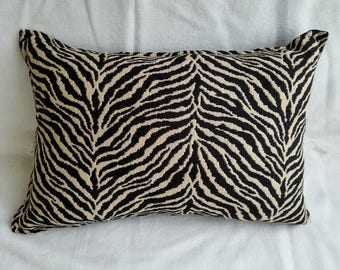 Zebra Pattern Pillow