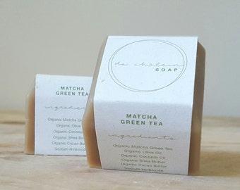 Matcha Green Tea Soap Bars