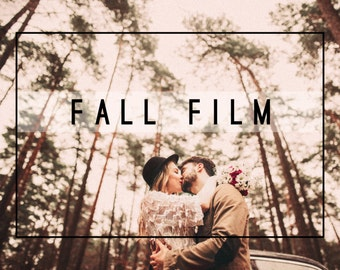 32 Professional Fall Film Lightroom Presets 8 Tool Presets & 6 LR Brushes Professional Photo Editing for Portraits, and Weddings