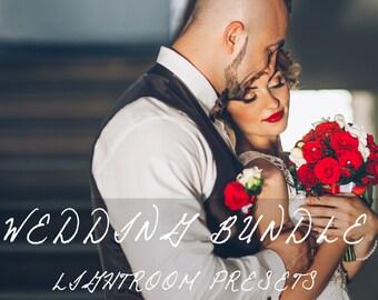 270 Professional Wedding Lightroom Presets Bundle Professional Photo Editing for Portraits, Engagements, Weddings By LouMarksPhoto