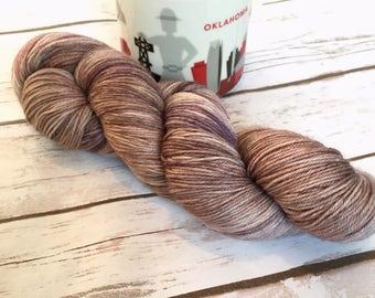 Brown Tonal Yarn | Cafe au Lait | Super Foot Sock