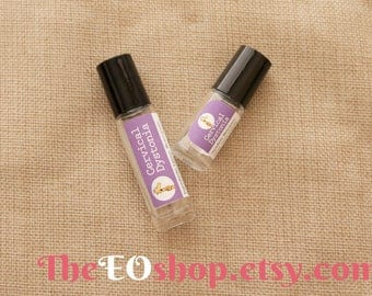 Cervical Dystonia Roller Blend of Essential Oils for cervical dystonia, neck