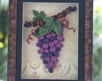 Yummy Grapes - Quilling Art