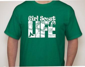Girl Scout Life T-shirt-Girl Scout Shirt