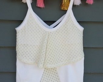 Lacy Lady Breastfeeding Tank Top