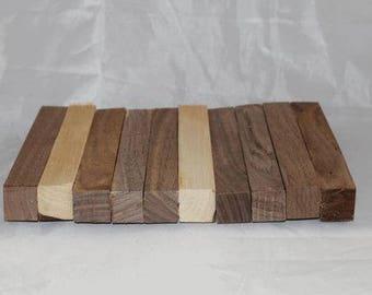 1/16th Inch Slices of Pen Blank Sets, Custom Cut Blanks