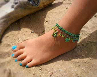 Beaded anklets,anklets,beaded Jewerly, beaded, anklets