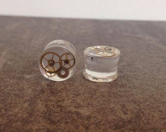 "ear plugs spacers 12 mm: 1/2 ""resin gears"