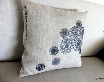 40x40motifs Black Lace Cushion cover