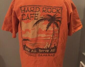 Vintage Hard Rock Cafe Shirt Nassua Bahamas
