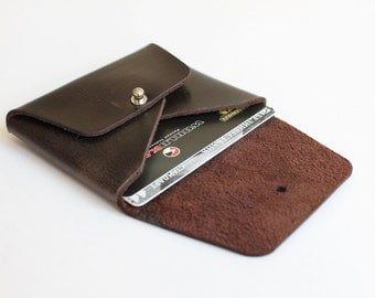 Leather coin purse Coin wallet Coin pouch Handmande coin case Cardholder