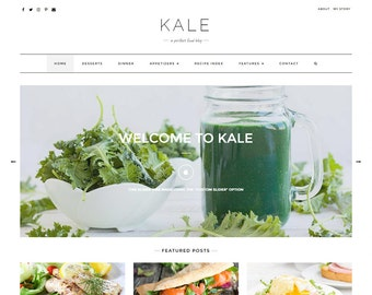 Kale Pro - The Perfect Food Blog, Personal and Lifestyle Wordpress Theme