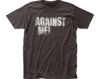 Against Me! logo Print Tshirt (AM05)