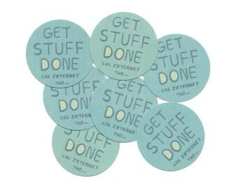 Adulting stickers - school supplies - school stationery sticker - back to school - funny sticker -  laptop sticker - glossy stickers