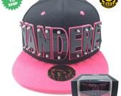 Yandere Arcylic Letter Snapback Hat
