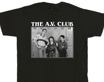 Freaks And Geeks The A.V. Club T-Shirt - Audio Visual Projector Club Sam Bill Neil Harris Geek Squad Tee Shirt - Mens & Womens Styles