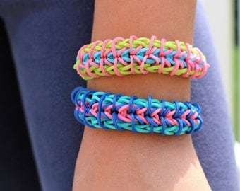Zippie Chain Rainbow Loom Bracelets