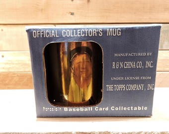 Mickey Mantel Collectors Mug, The Topps Company, Porcelain Mug,Manufactured By R & N China Co, Inc. Limited Edition, NY Yankees