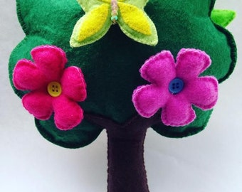 Felt Toys Children Gift New Year Gift Develops Felt Felted toy Developing Toy Soft Toy