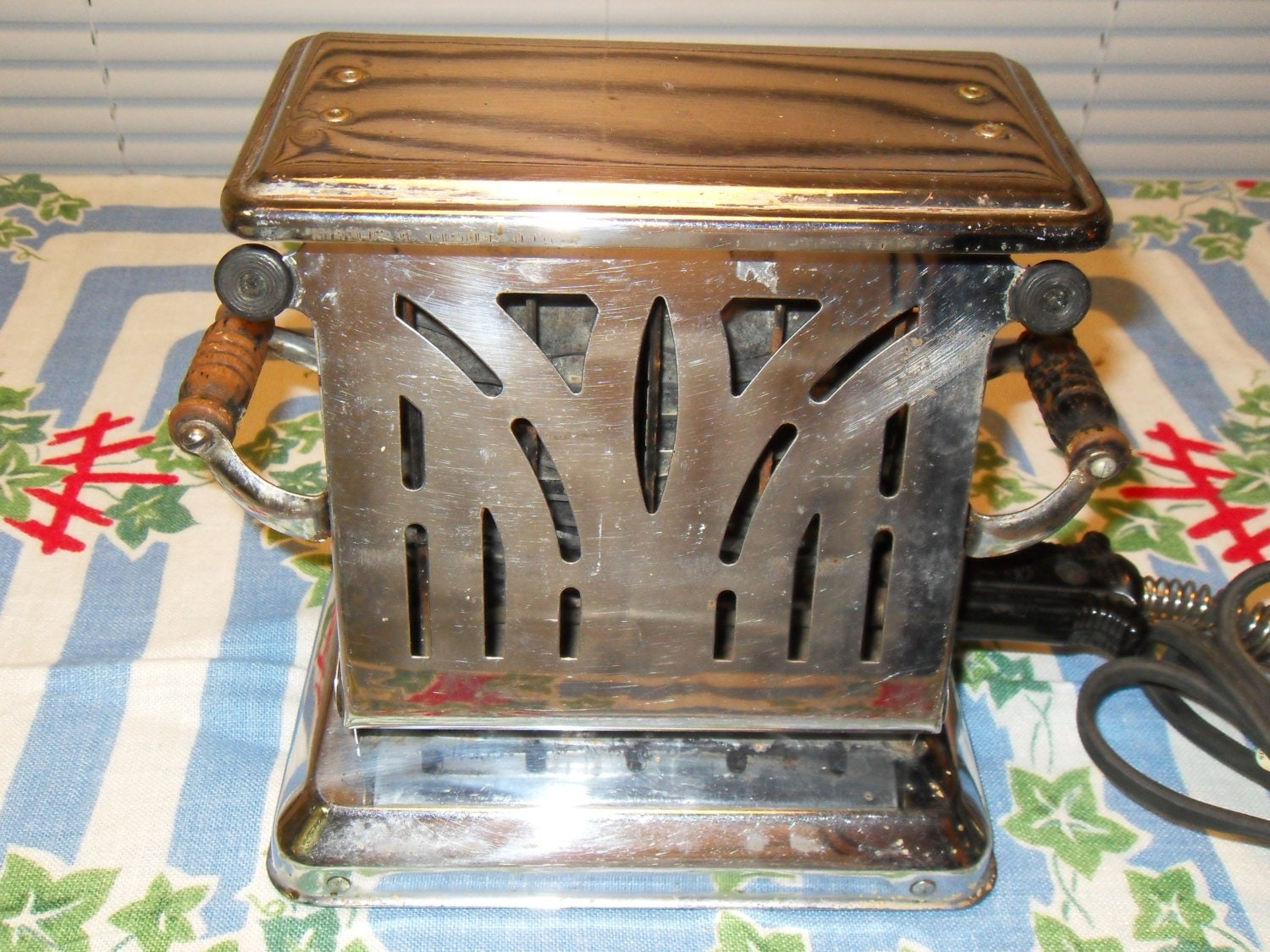 1920 Electric Toaster ~ Antique toaster s art deco electric dominion