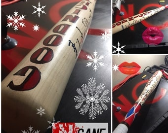 Suicide Squad Harley Quinn Bat. Fan made replicas