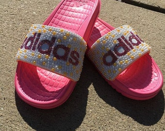 Adidas Bling Slides/Confirm Colors Before Ordering