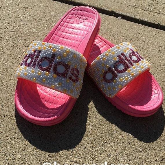 edadfbacc3535 promo code 9fd10 508c8 crystal nike sandals by on etsy nike slide ...
