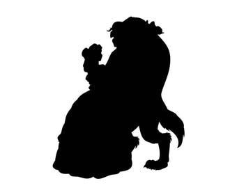 Beauty And The Beast Svg Clip Art Downloads Files In Digital Format Eps