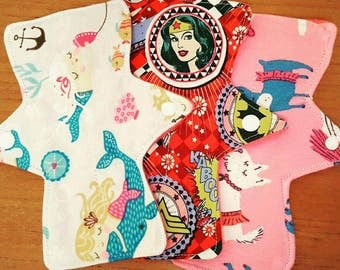 Cloth pad dogs reusable mama pad washable heavy light moderate