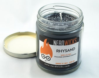 Rhysand - A Court of Mist and Fury Inspired Candle - Chocolate and Cherry