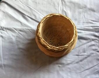 Cherokee double walled basket