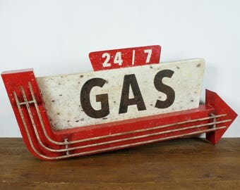 GAS - Gas Station vintage sign