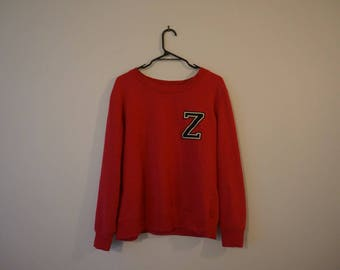 Red Pullover S