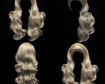 Ash Blonde lace front wig