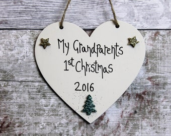 Grandparents Gift - Grandparent gift - Gifts for Grandparents -Gift for Grandad -grandparent keepsakes -Christmas Gifts - Grandparent