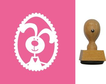 Easter egg, Bunny, card making stamp 990000,